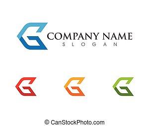 G Letter Logo Template design