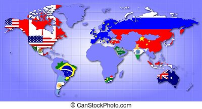 G20 map