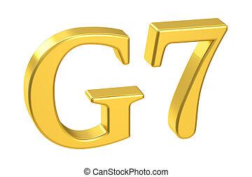 G7 concept, 3D rendering
