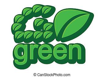 gaan, groene