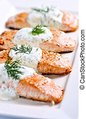 gaar, salmon