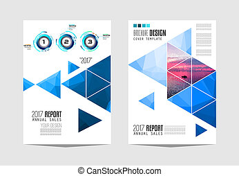 gabarit, business, ou, conception, couverture, brochure, aviateur, présentation, depliant