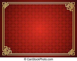 gabarit, chinois