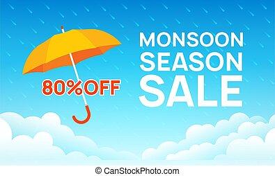 gabarit, vente, pluvieux, saison, mousson, promotion,...
