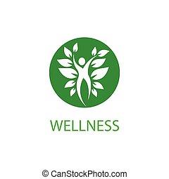 gabarit, wellness, logo