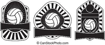 gabarits, conception, volley-ball