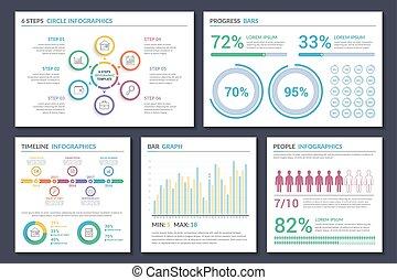 gabarits, infographic