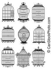 gabbia uccello