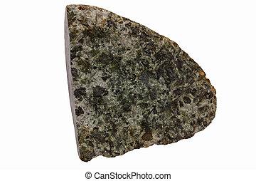 Gabbro from Skye - Plutonic rock gabbro from the Isle of...