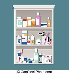 gabinete, medicina