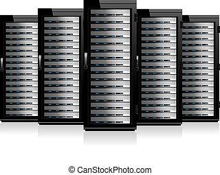 gabinetes, servidor