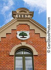 gable of a house