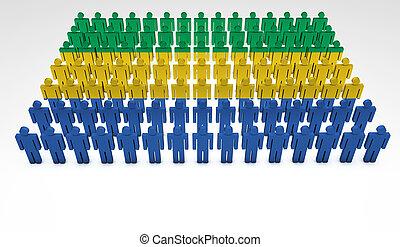 Gabon Parade