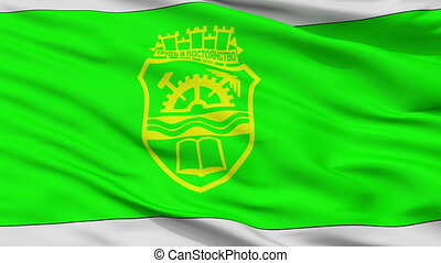 gabrovo, drapeau, closeup, ville, bulgarie
