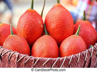 gac fruit healthy fruit