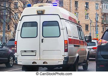 gade city, ambulance