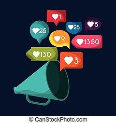 gadget like notification icon