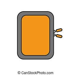 Gadget protective case color icon