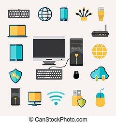 gadget, set, netwerk
