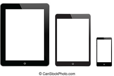 gadgets, black , technologie