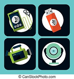 gadgets icons