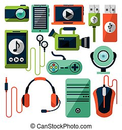 gadgets tech design, vector illustration eps10 graphic