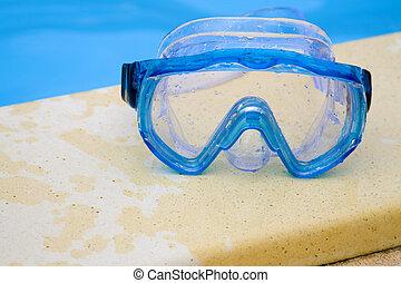 gafas de protección, natación
