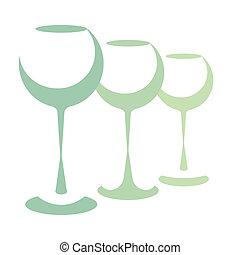 gafas vino