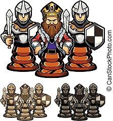 gages, roi, échecs