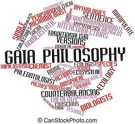gaia, 哲学