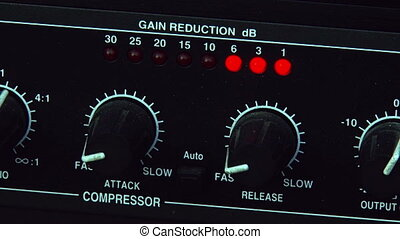 Gain Reduction, Audio equipment