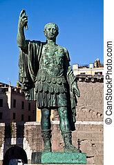 Gaius Julius Caesar (13 July 100 BC – 15 March 44 BC) was a...