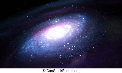 galáxia, voe