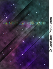 galactic abstract design
