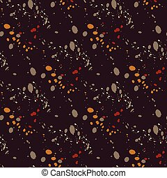 Galactic flow seamless pattern. Authentic design for digital...