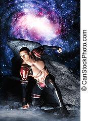 Galactic space hero