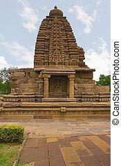 Galaganatha temple, Pattadakal temple complex, Pattadakal,...