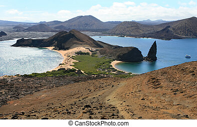 Galapagos Islands - The beautiful Galapagos islands in the...