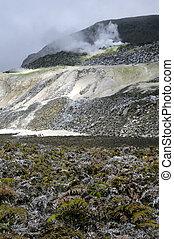 Galapagos Sulfur Volcano - The galapagos south isabella...
