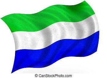 Galapagos islands or Sierra-leone, flag