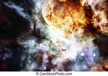 galassia, -, elementi, di, questo, immagine, ammobiliato, vicino, nasa