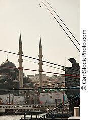 view of Hagia Sophia Museum, Istanbul, Turkey