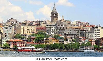 Galata, Istanbul - Galata Tower, Istanbul in Spring
