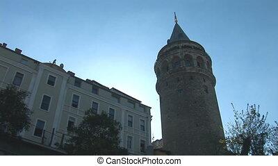 Galata Tower in Istanbul c