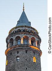 Galata Tower in Istanbul