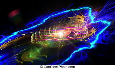 galaxy abstract plasma