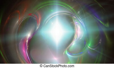 galaxy abstract ray star