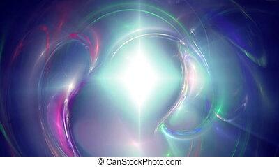 galaxy abstract ray star