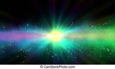 galaxy andromeda abstract