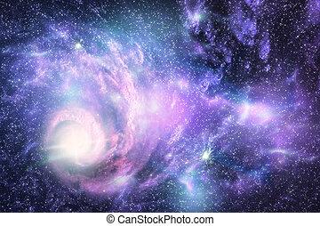 Galaxy - Space galaxy and star fogs